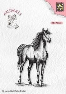 Bilde av Nellie Snellen - Clear Stamp - ANI019 - Horse