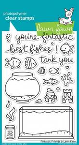 Bilde av Lawn Fawn - LF891 - Clear stamps - Fintastic Friends