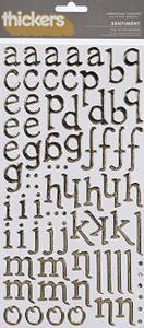 Bilde av Thickers - 53287 - Foil Chipboard - Gold - Sentiment