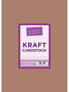 Bilde av Crafter's Companion - A4 - Kraft Cardstock - 50stk - 280g