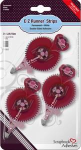 Bilde av Scrapbook Adhesives - E-Z Runner - Strips Refill - 3pk Permanent