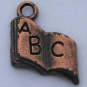 Bilde av Charms - Bok - ABC - Kobber - 14 stk