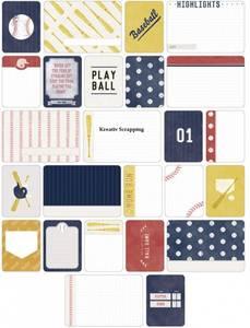 Bilde av Project Life - Themed Cards 40 - 380242 - BASEBALL