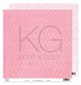 Bilde av Kort & Godt - Mønsterpapir 108187 - MP-102 rosa - 7757