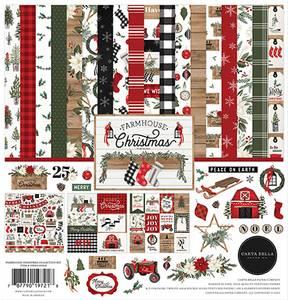 Bilde av Carta Bella - Farmhouse Christmas - 12x12 Collection Kit