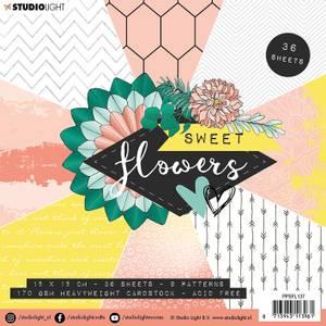 Bilde av Studiolight -  137 - PaperPad 15x15cm - PPSFL137 - Sweet flowers