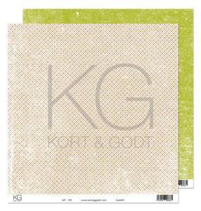 Bilde av Kort & Godt - Mønsterpapir 108188 - MP-103 grønn - 7665
