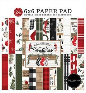 Bilde av Carta Bella - Farmhouse Christmas - 6x6 Paper Pad