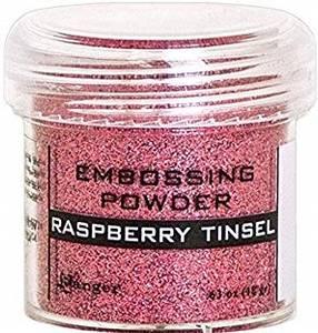 Bilde av Ranger - Embossing powder - Raspberry Tinsel
