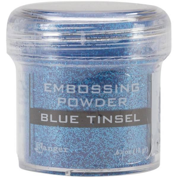 Ranger - Embossing powder - Teal Tinsel