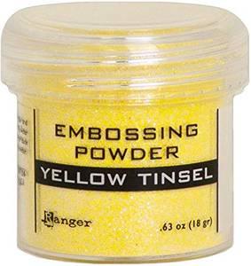 Bilde av Ranger - Embossing powder - Yellow Tinsel