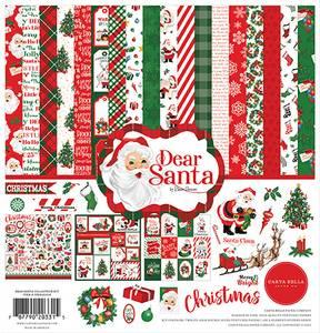 Bilde av Carta Bella - Dear Santa - 12x12 Collection Kit