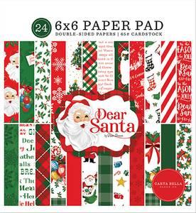 Bilde av Carta Bella - Dear Santa - 6x6 Paper Pad