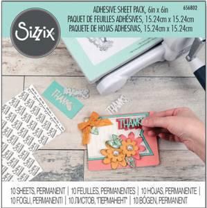 Bilde av Sizzix - 656802 - Accessory - Adhesive sheet pack - 6x6