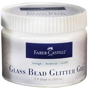 Bilde av Faber Castell - Glass Bead Glitter Gel - 100ml