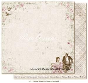 Bilde av MAJA DESIGN - VINTAGE ROMANCE 817 - LOVE IS IN THE AIR