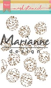 Bilde av Marianne Design - Mask stencil A5 - PS8010 - Tiny's pine cones