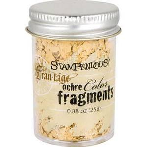 Bilde av Stampendous - Fran-Tage - Color Fragments - OCHRE