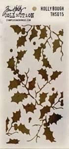 Bilde av Tim Holtz - Layered Stencil - THS015 - HOLLY BOUCH *