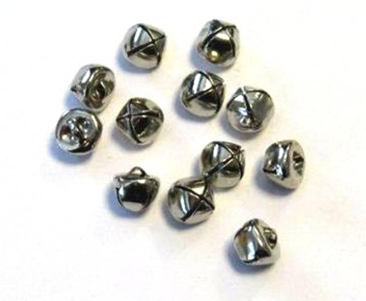 Bjeller - 3902 - Sølv - 10mm - 12 stk