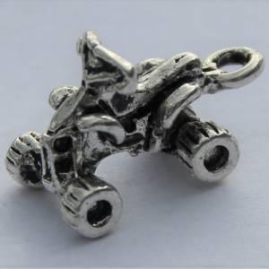 Bilde av Charms - ATV - 3D - Sølv - 5 stk