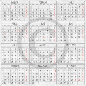 Bilde av Papirdesign PD1900189 - Julenatt - Kalender 2020
