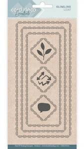 Bilde av FIT - Dies - CDECD0101 - Card Deco Essentials - Slimline Leaf