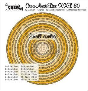 Bilde av Crealies - Crea-Nest-Lies XXL 80 - Circles with small circles