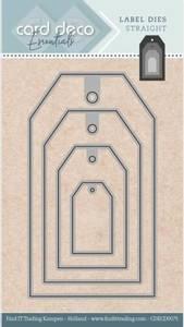 Bilde av FIT - Dies - CDECD0075 - Card Deco Essentials - Label - Straight