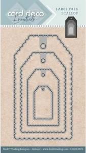Bilde av FIT - Dies - CDECD0076 - Card Deco Essentials - Label - Scallop