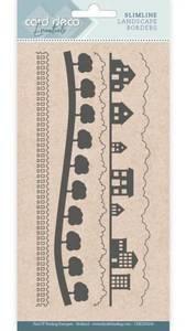 Bilde av FIT - Dies - CDECD0104 - Card Deco Essentials - Slimline Landsca