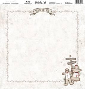 Bilde av Papirdesign PD16215 - Gledelig jul - Pepperkakebyen