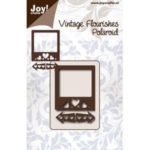 Bilde av Joy Crafts - 6003-0068 - Vintage Flourishes - Polaroid