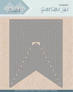Bilde av FIT - Dies - CDECD0093 - Card Deco Essentials - Bullet Fishtail