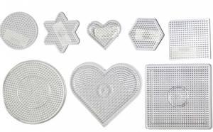 Bilde av Perlebrett - Nabbi Beads - Pakke med 8 forskjellige
