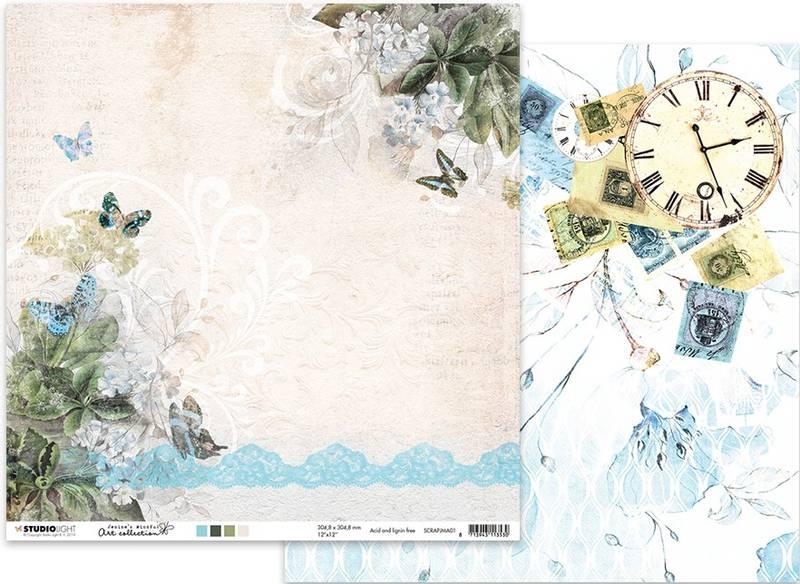 Studiolight - 12x12 - ScrapJMA01 - Jenine's Mindful Art 01