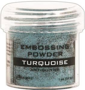 Bilde av Ranger - Embossing powder - Turquoise