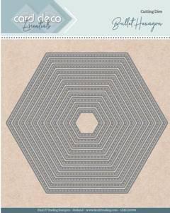 Bilde av FIT - Dies - CDECD0094 - Card Deco Essentials - Bullet Hexagon