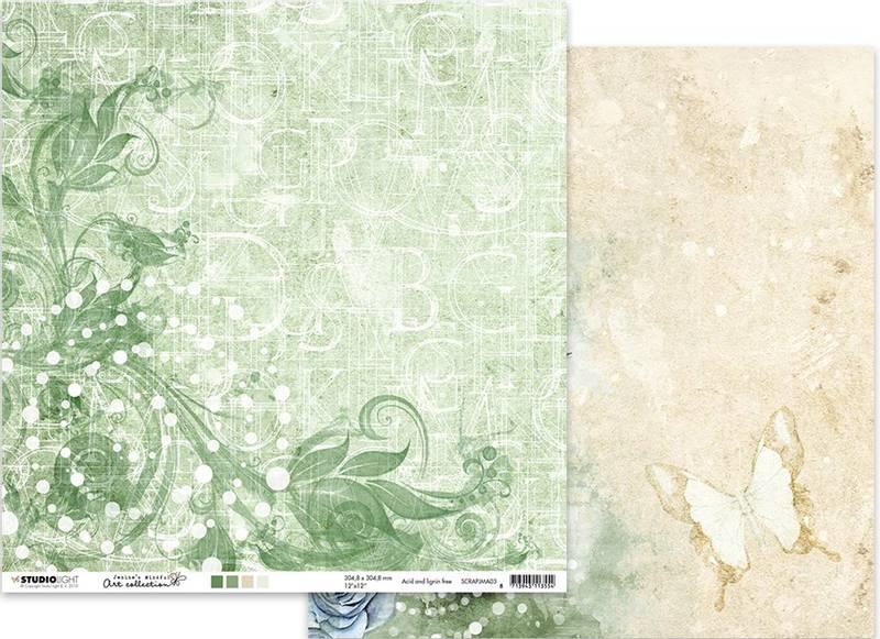 Studiolight - 12x12 - ScrapJMA03 - Jenine's Mindful Art 03