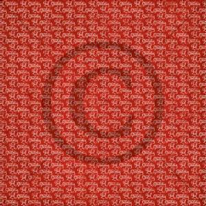 Bilde av Papirdesign PD1900200 - Julenatt - Gledelig jul, rød