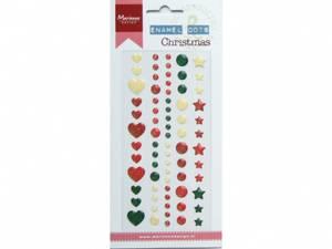 Bilde av Marianne Design - PL4509 - Enamel dots - Christmas