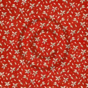 Bilde av Papirdesign PD1900201 - Julenatt - Røde og fine kristorn