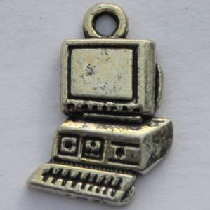 Bilde av Charms - Data - Sølv - 10 stk