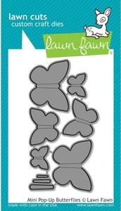 Bilde av Lawn Fawn - LF1612 - Dies - Mini Pop-Up Butterflies