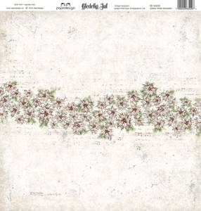 Bilde av Papirdesign PD16229 - Gledelig jul - Julens hvite blomster