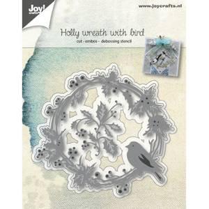 Bilde av Joy Crafts - 6002-1062 - Wreath with finch
