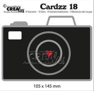 Bilde av Crealies - Dies - Cardzz  18 - Camera (cardsize)