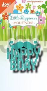 Bilde av Joy Crafts - 6002-1317 - Noor - Moustache