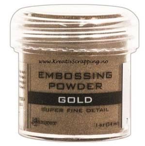 Bilde av Ranger - Embossing powder - Super Fine Detail - Gold
