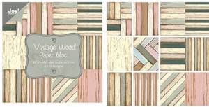 Bilde av Joy Crafts - 6011/0702 - Paper Bloc 12x12 - Vintage wood